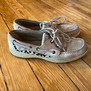 Sperry Womens Top Siders - Size 8